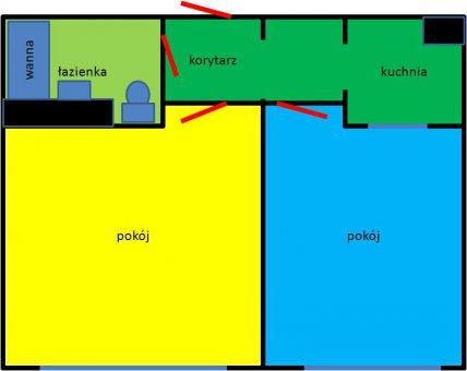 Zdjęcie do ogłoszenia słoneczne 2 pokojowe mieszkanie po remoncie